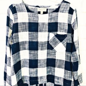 Anthropologie Tops - Anthropologie Cloth & Stone Plaid Top